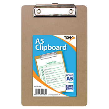 CLIPBOARDS, A5 (155 x 225mm), Pack of 12