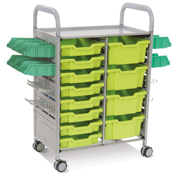 CALLERO STEM ACTIVITY TROLLEY, STEM DOUBLE COLUMN, Lime