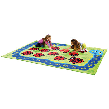 KIT FOR KIDS, BACK TO NATURE(TM) CARPETS, CHLOE THE CATERPILLAR NUMERACY & LITERACY, 3000 x 2000mm, Each