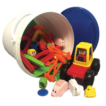 STICKLE BRICKS, Farm Set, Age 3+, Set