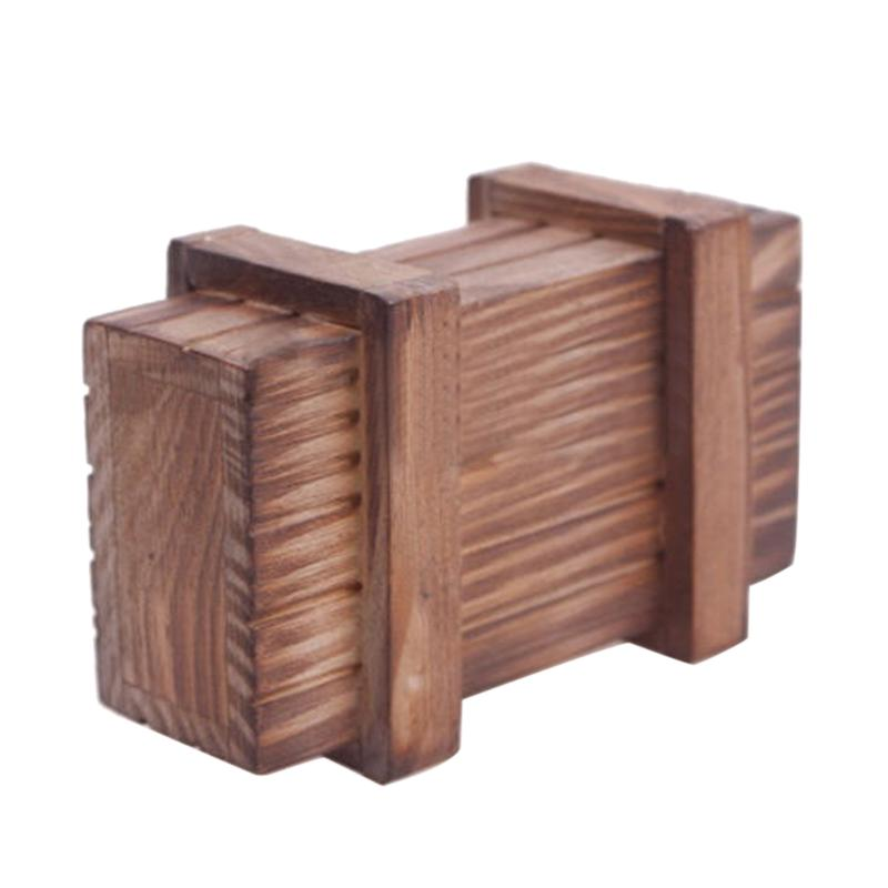 Compartment Magic Wooden Puzzle Box Puzzle