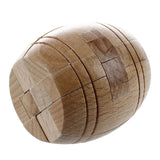 Luban Wooden Lock Bucket Puzzle Toy