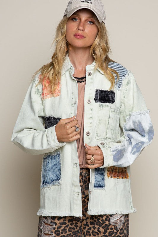 POL Coastal Patchwork Jacket