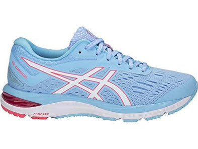 ASICS Women's Gel-Cumulus 20 Running Shoes, 9.5M, Skylight/White