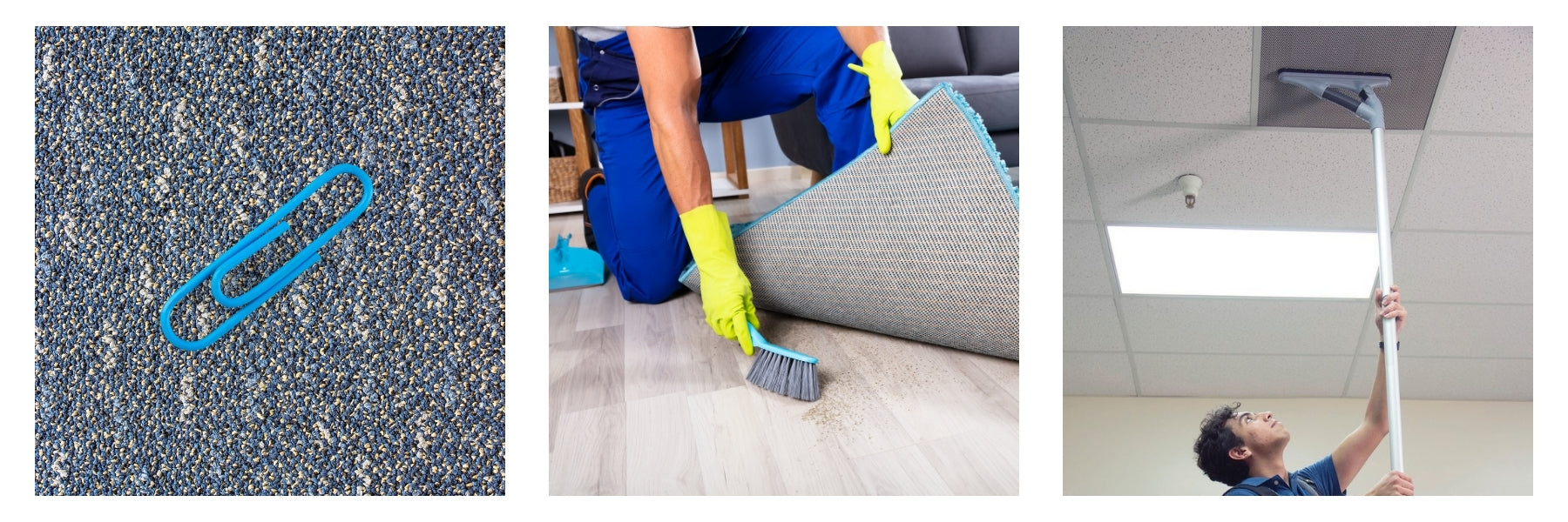 Jan-Supply demonstrates best practices for commercial vacuuming.