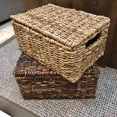 Single Lidded Basket