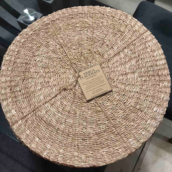 Round Abaca Placemat