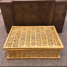 Load image into Gallery viewer, Rattan Lidded Basket (Stock Lot Sale)