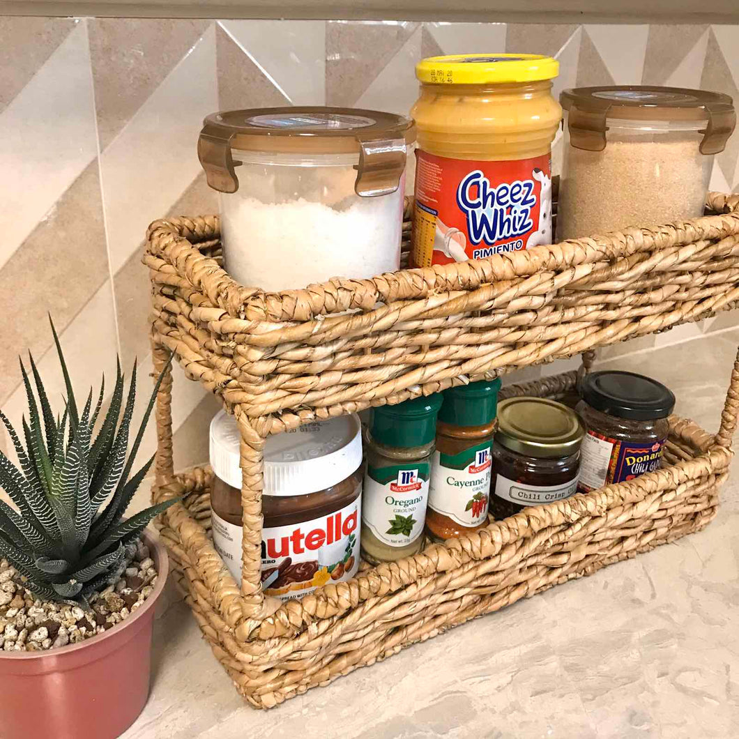 Double Layer Condiment Tray
