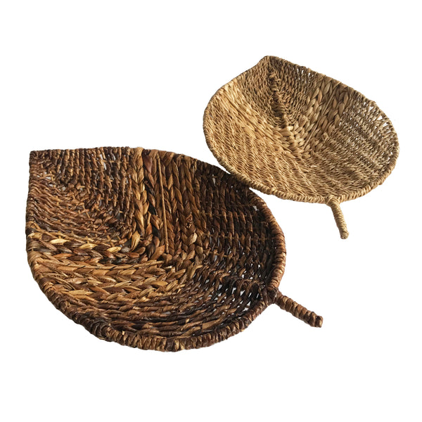 Woven Leaf Tray