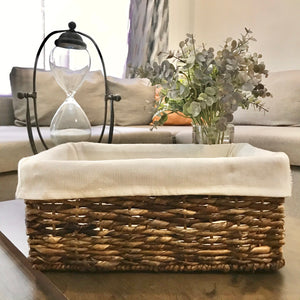Small Rectangle Baskets with Liner