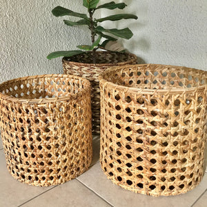 Solihiya Round Baskets
