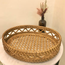 Load image into Gallery viewer, Baler Rattan Tray