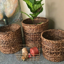 Load image into Gallery viewer, Areca Round Basket