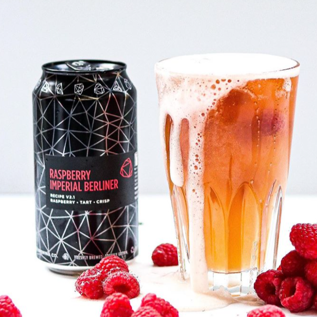 Raspberry Imperial Berliner