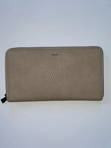 Large Pebble Wallet-Taupe