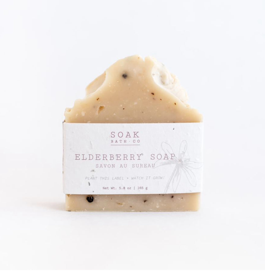 Elderberry Soap Bar