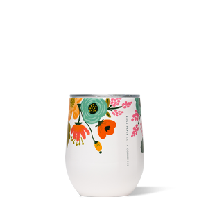 Lively Floral - 12oz Stemless