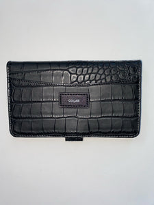 Small Black Croco Wallet