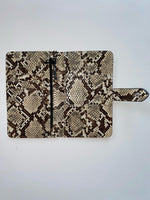 Small Grey Snake Wallet