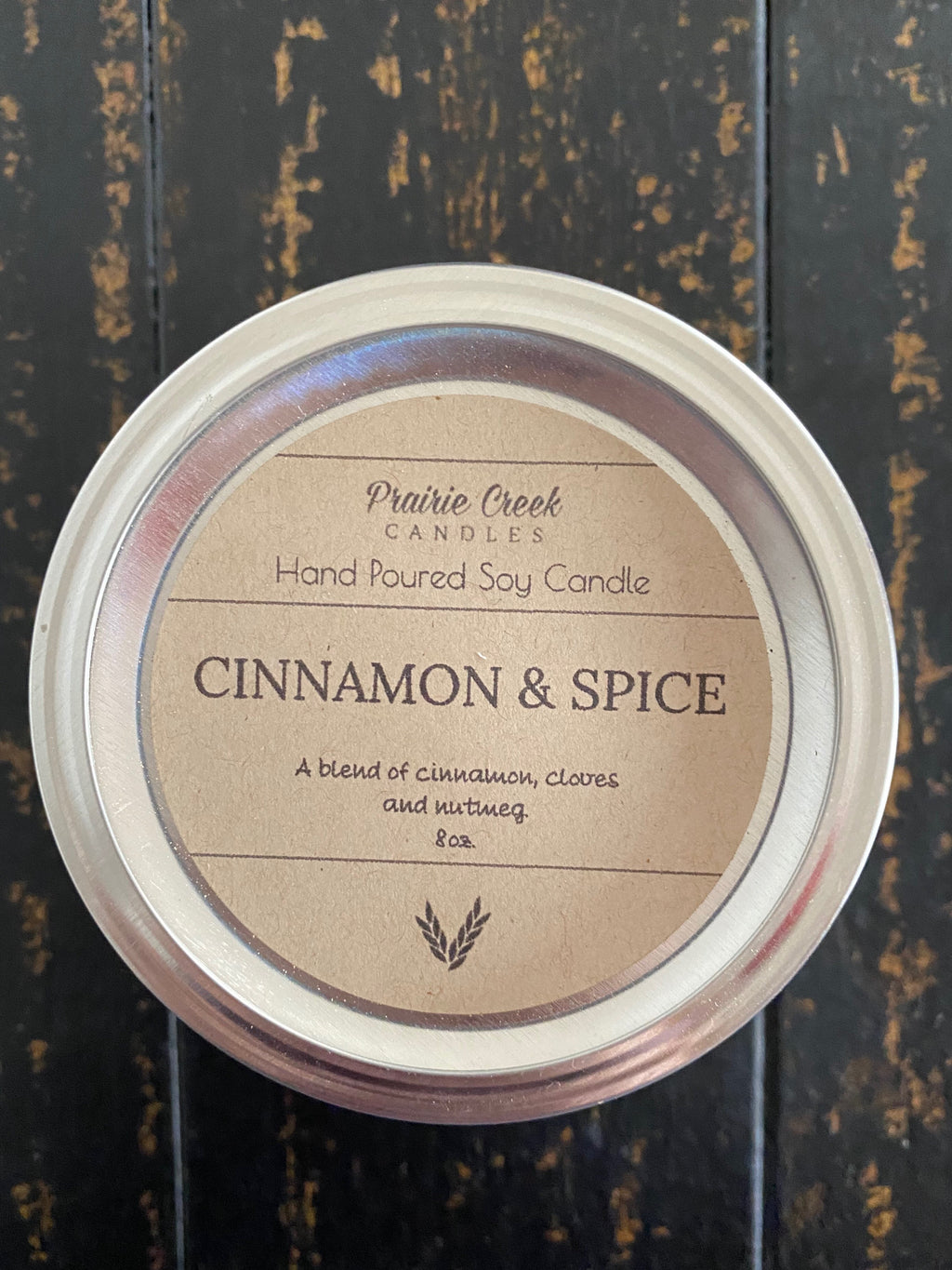 Prairie Creek Candles - Cinnamon & Spice