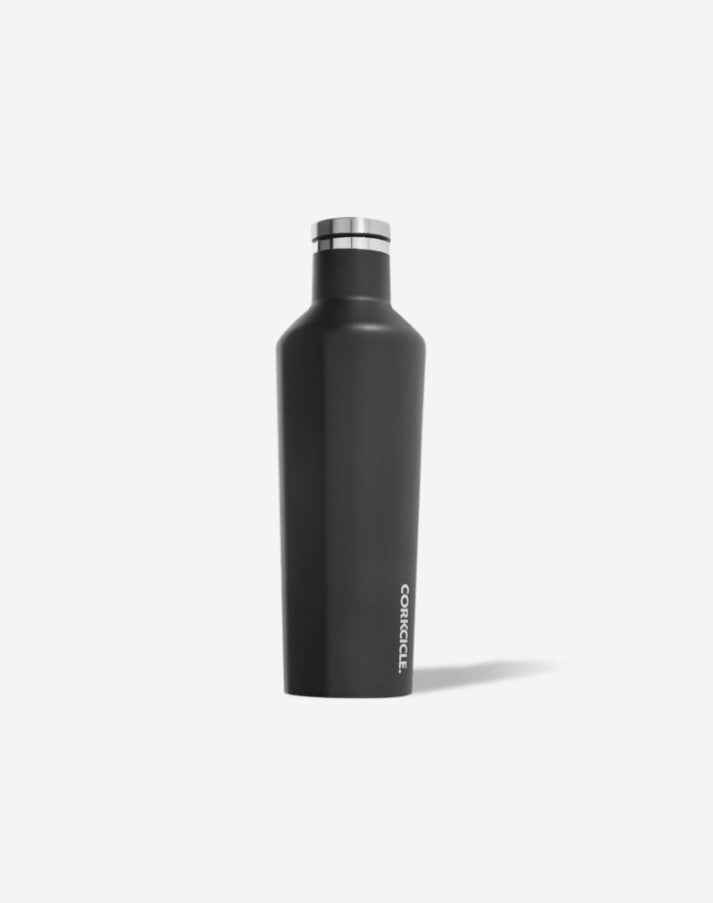 Matte Black - 25oz Canteen