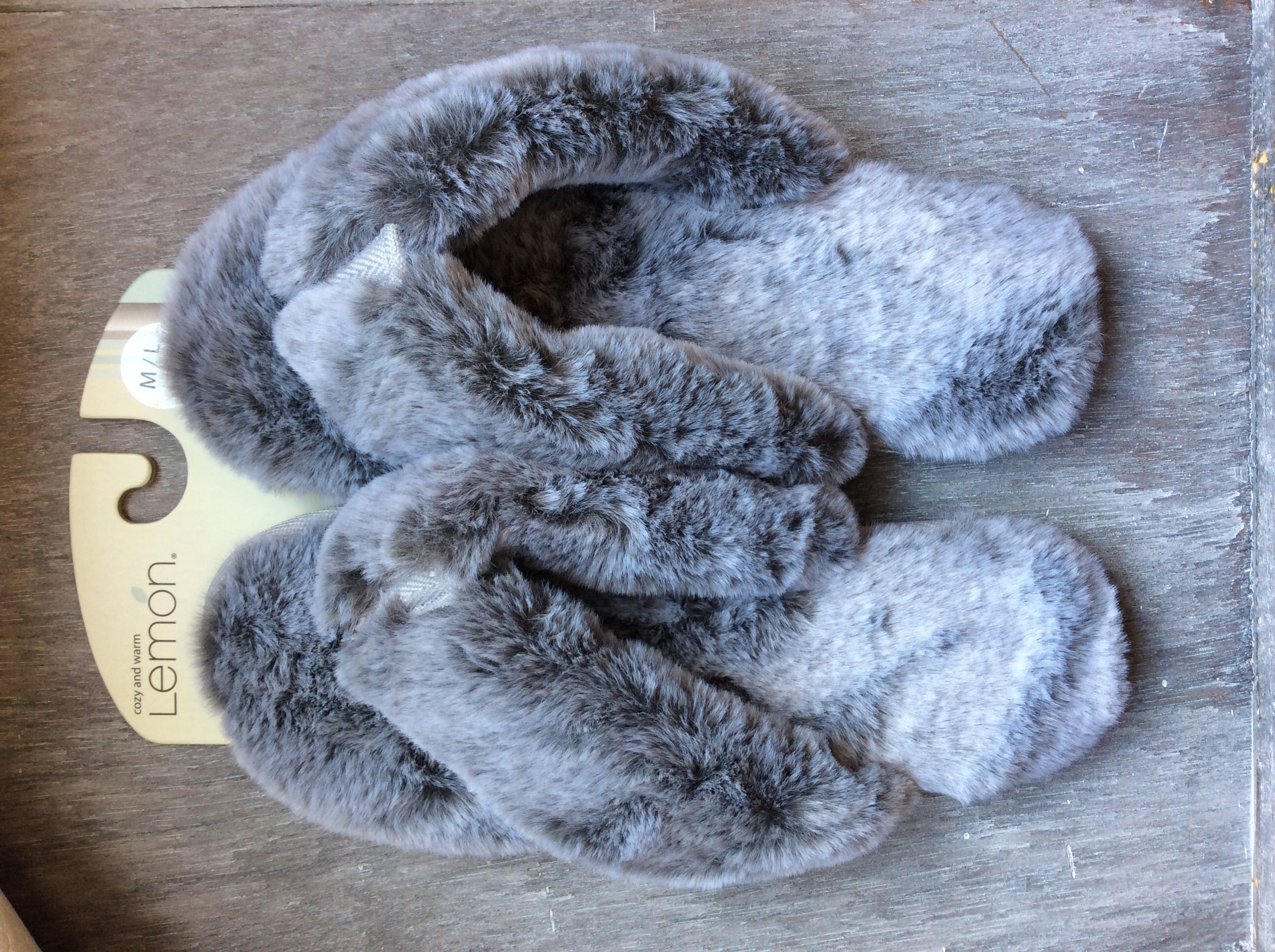 Waterfront Fur Flip Flop - House Slipper