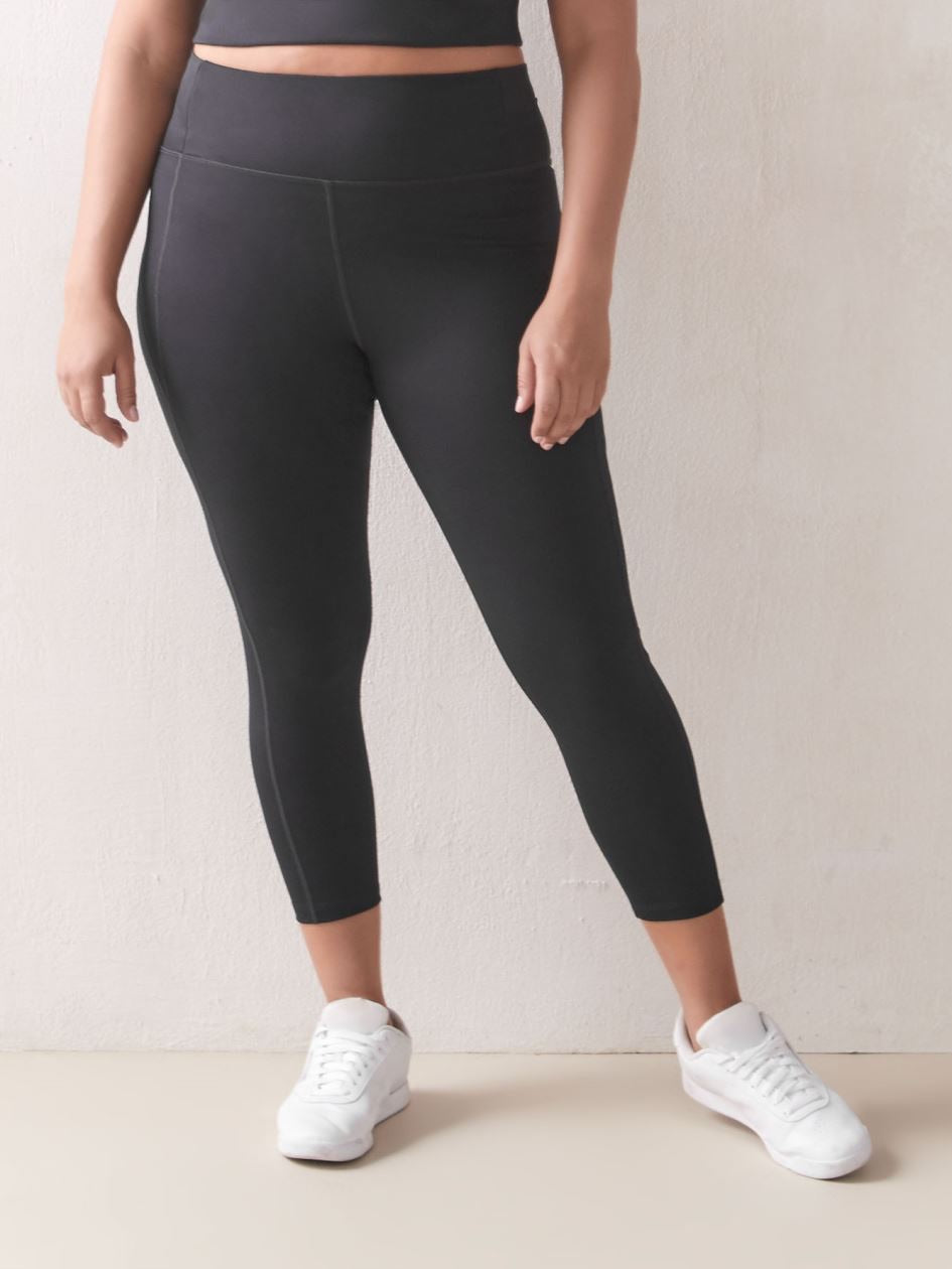 Compressive High-Rise 23 3/4 Legging - Smoke