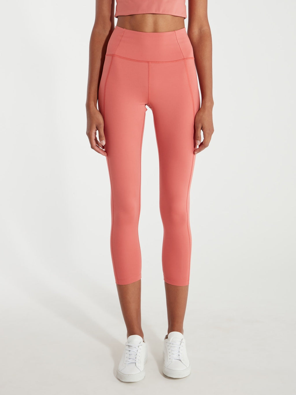 Compressive High-Rise 23 3/4 Legging - Peach