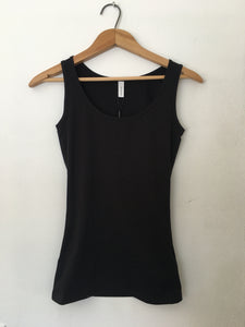 Black Knitted Tank