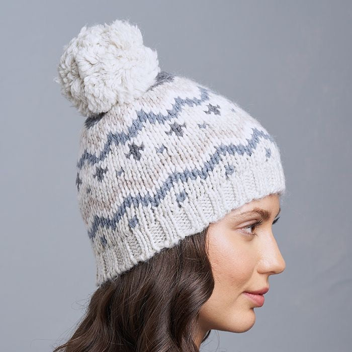 Fairisle Hat - Oxford