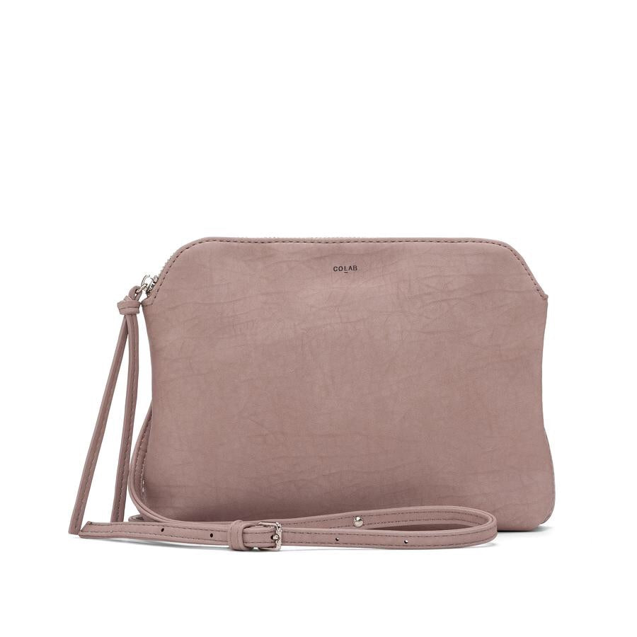 TUMBLED BASIC CROSSBODY - Bloom