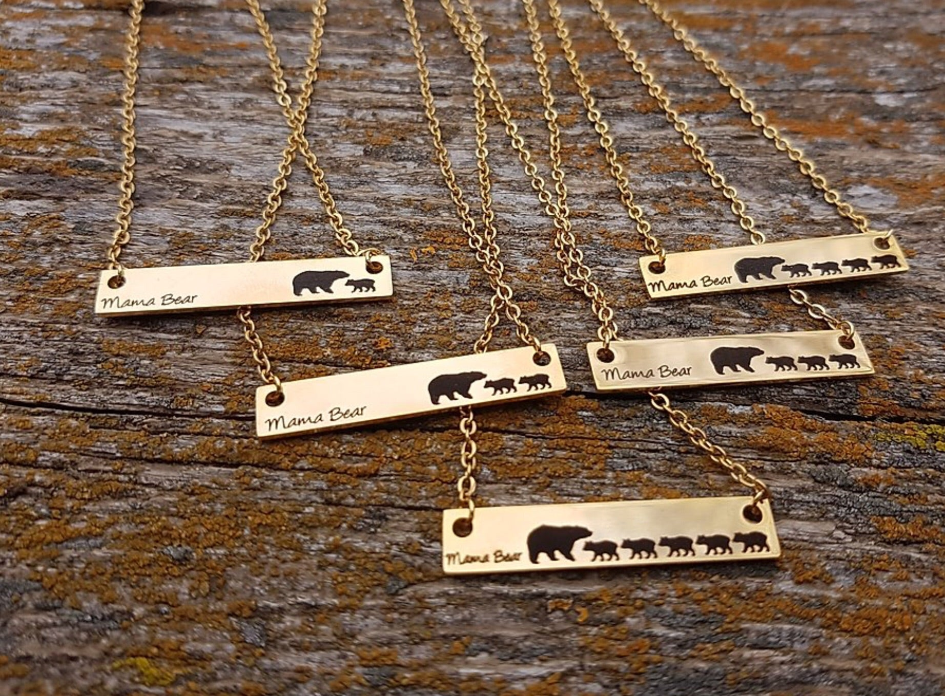 Mama Bear Chains - Silver & Gold Selections