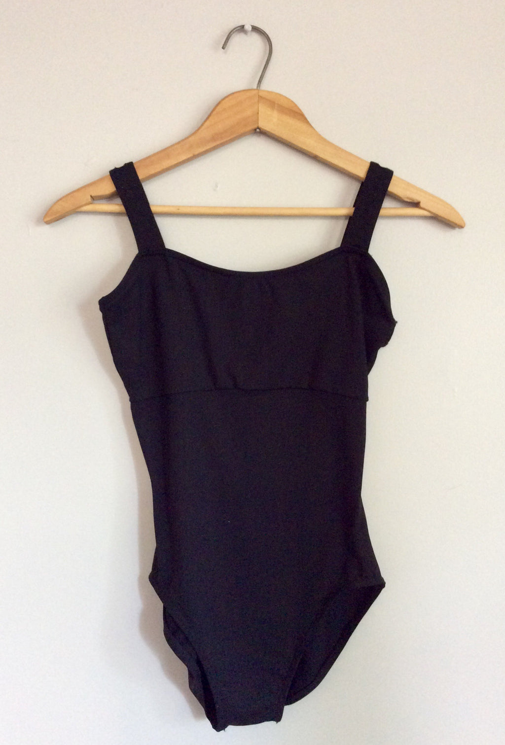 Simple black bodysuit
