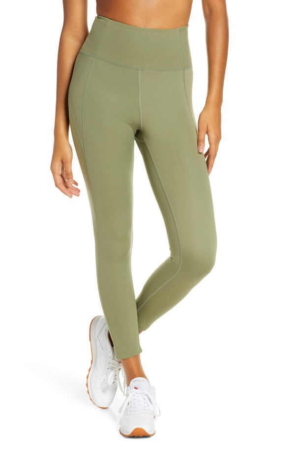 Compressive High-Rise 23 3/4 Legging - Olive