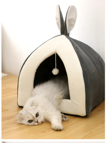 panier igloo pour chat