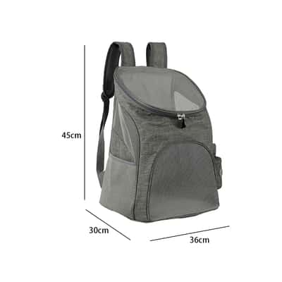 sac a dos chien - taille