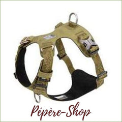 Harnais spécial malinois TRUELOVE - green dog harness / XS 33-43cm chest-PEPERE SHOP