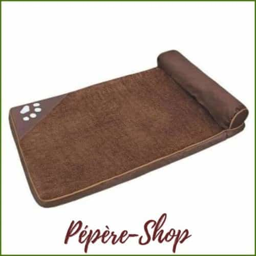 Matelas déhoussable, confortable et rectangulaire - Brown / 100x65cm-PEPERE SHOP