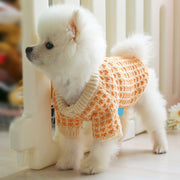 Pull chaud en coton, tricot orange d'hiver - -PEPERE SHOP