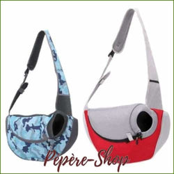 Sac de transport en bandoulière pour chien ou chat WELLPET Design - -PEPERE SHOP