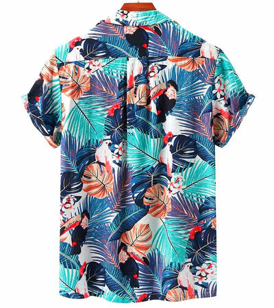 chemise tropicale jungle exotique