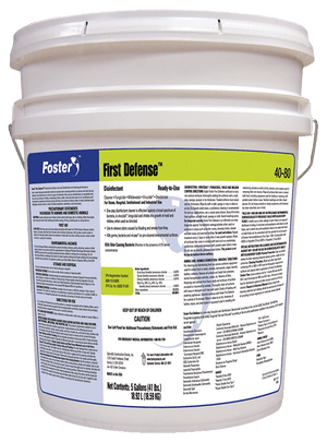 Foster 40-80 First Defense Disinfectant 5 Gal