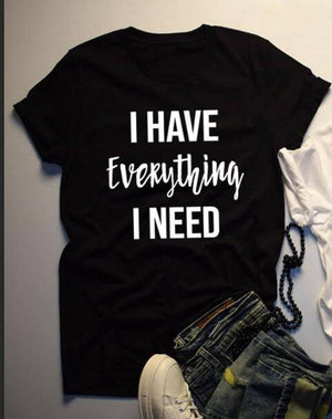 """Everything"" Couples Tshirts"