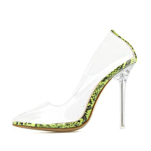 Transparent Stilettos