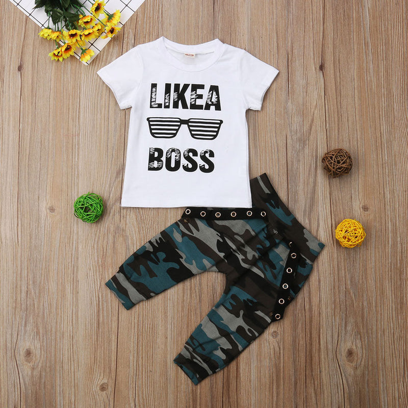 """Like A Boss"" Boys Set"