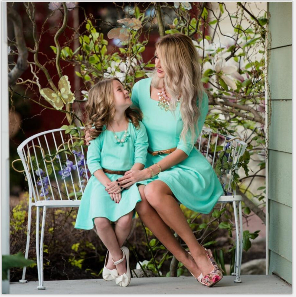 Mother & Daughter Afternoon Dress