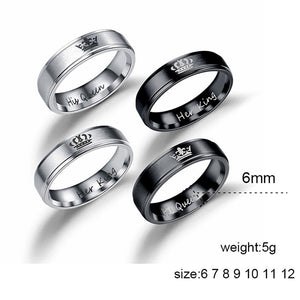 King & Queen Rings