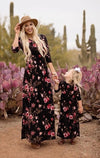 Mother & Daughter Flow Dress