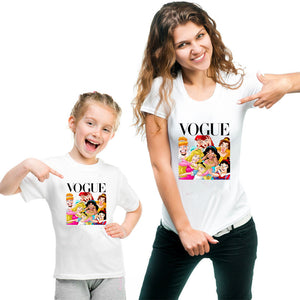 Mother & Daughter Vogue T-Shirt